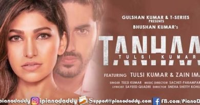 Tanhaai Sargam Notes Tulsi Kumar